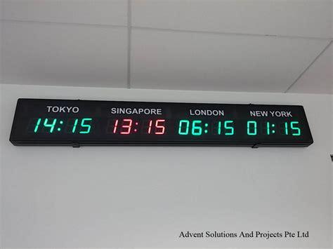 Led Digital Clock led digital clocks displays advent solutions and projects