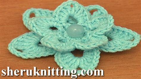 crochet pattern free video crochet lily tutorial 86 free crochet flower patterns