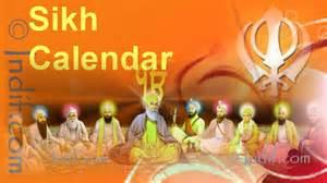 sikh calendar nanakshahi khalsa jantri 2017