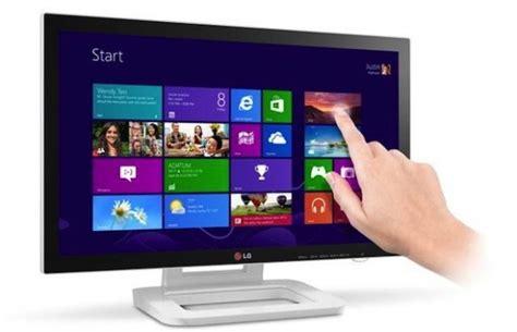 Layar Monitor Komputer Lg lg umumkan monitor layar sentuh dengan optimalisasi windows 8 jagat review