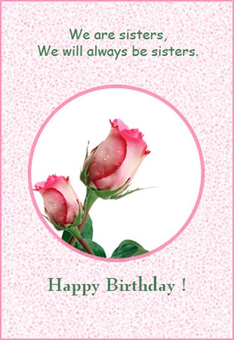 printable birthday cards for a sister sister birthday printable card printable birthday wish