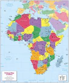 Political Africa Map by Pics Photos Africa Political Map