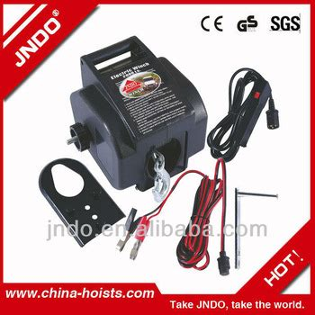 electric boat trailer winch 12v small electric boat trailer winch for anchor buy