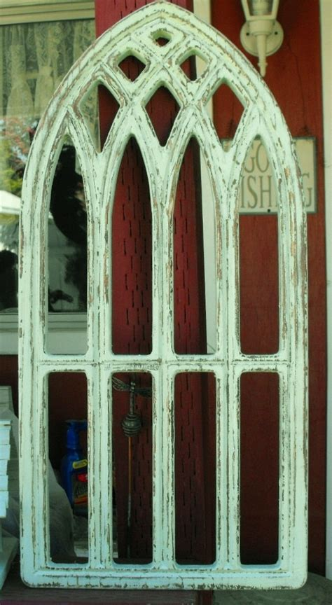 distressed arched window frame   etsy add