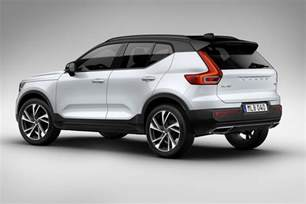 Xc40 Volvo Volvo Xc40 Revealed All New Baby Crossover Is Go For 2018