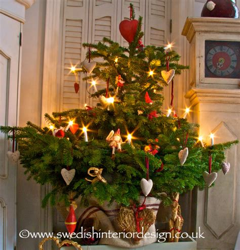 Hanging Decorations For Home swedish christmas tree design traditional living room