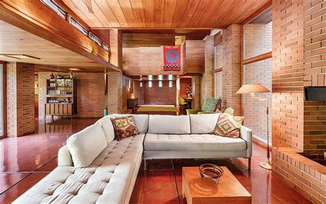 Andrew Frank Interior Design by 10 Must See Houses Designed By Architect Frank Lloyd Wright Travel Leisure