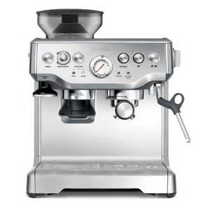 Breville Coffee Maker With Grinder Breville Bes870bss The Barista Express Coffee Machine Ebay