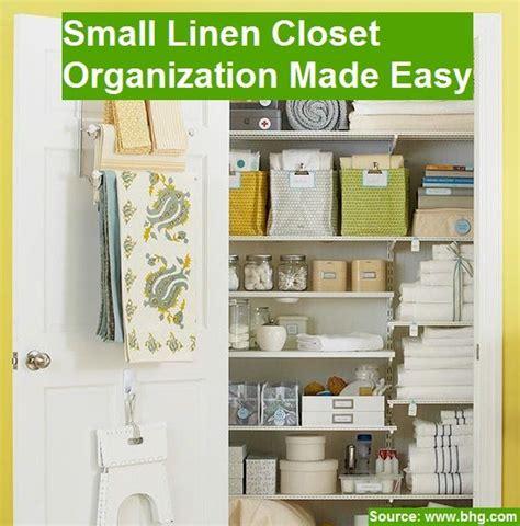 Small Linen Closet Organization Ideas by 17 Best Ideas About Small Linen Closets On
