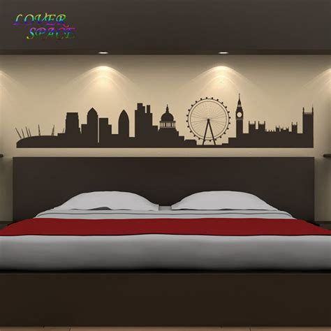 skyline wall stickers singapore skyline wall sticker living room