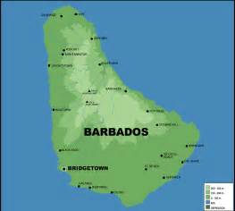 political map of barbados barbados map with cities blank outline map of barbados