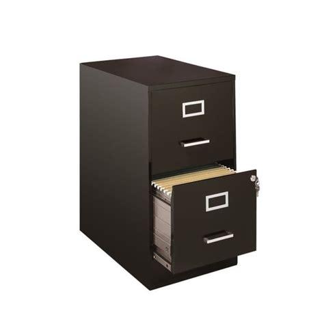 black 2 door filing cabinet 2 drawer file cabinet in black 13226