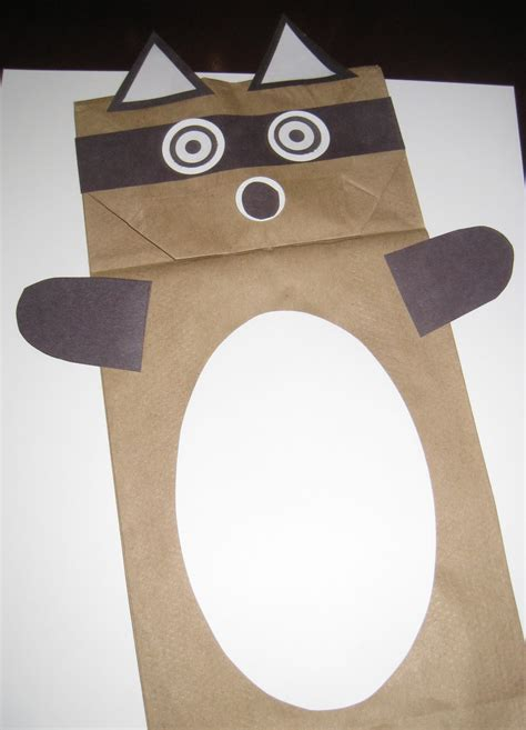 Puppet With Paper Bag - 59 paper bag puppets guide patterns