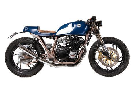 Motorrad Upside Down Gabel Umbau by Yamaha Xj 550 Cafe Racer Umbau Adsleaf