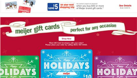 Gift Cards At Meijer - meijer get free 5 for buying meijer gift cards a mitten full of savings