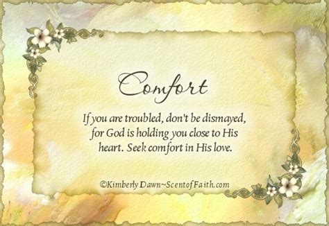 Comfort Words For Loss comfort and soul