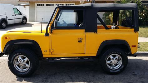 land rover defender 90 yellow 1995 yellow defender 90 land rover forums land rover