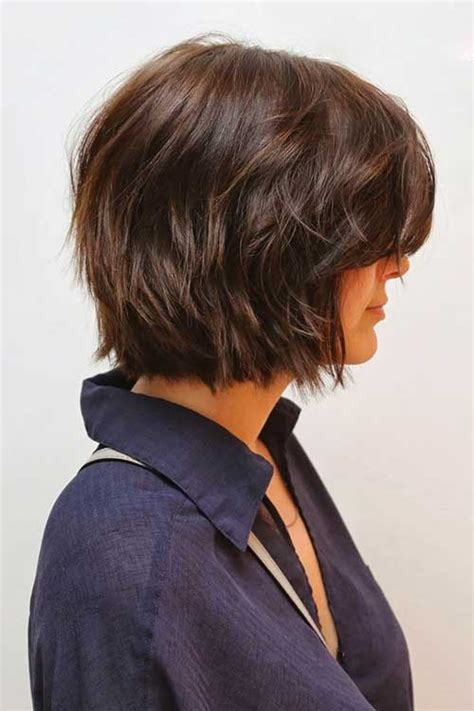 short layer wavy bob hair cuts 15 nice layered wavy bob short hairstyles 2017 2018