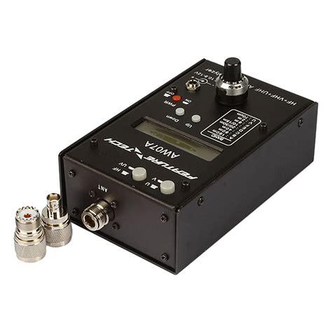 Antena Analyser Hf by 2x Diy Aw07a Hf Vhf Uhf 160m Impedance Swr Antenna