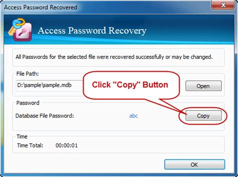 access serial how to ms access mdb accdb password