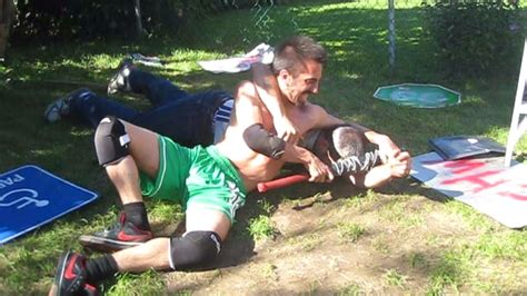 backyard catfight 1st blood match chris vega vs innovator chw backyard