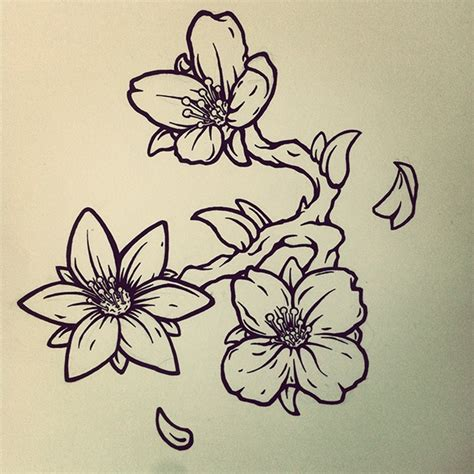 jasmine flower tattoo design on behance