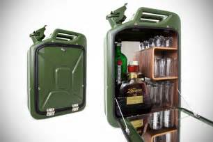 Jerry Can Bar Cabinet Fuel Repurposed Jerry Cans Mikeshouts