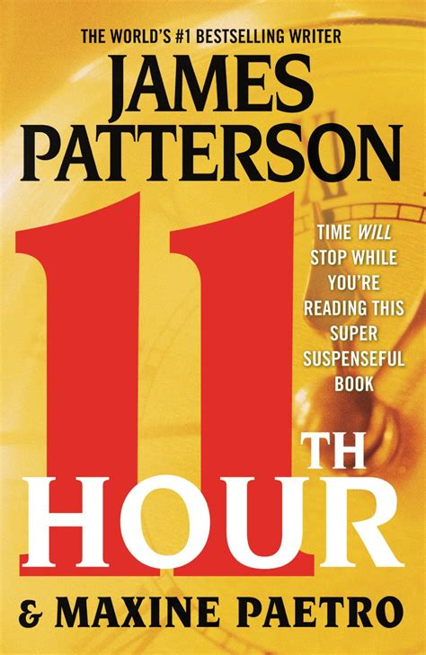 james patterson books james patterson 11th hour