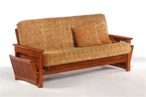 Wood Futon by Raindrop Futon Shop And Day Raindrop Futon With Magazine Bin