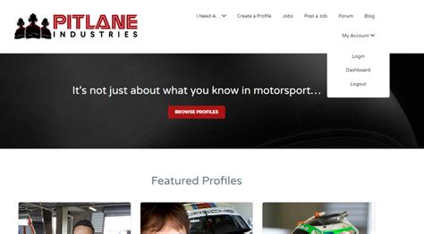 What Goes In The Profile Section Of A Resume by How To Edit A Profile Pitlane Industries