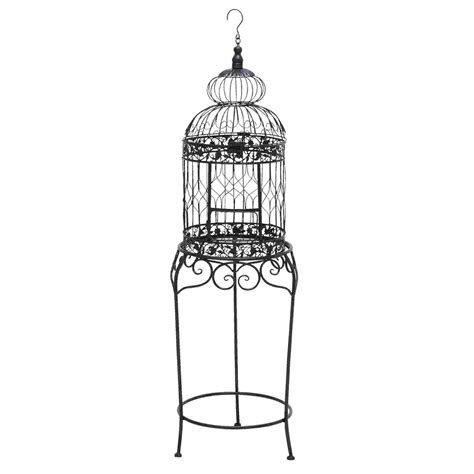 woodland imports 55122 victorian style bird cage with