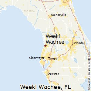 best places to live in weeki wachee florida