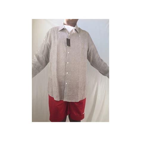 pattern for linen shirt 40 off tasso elba other tasso elba scroll tile pattern