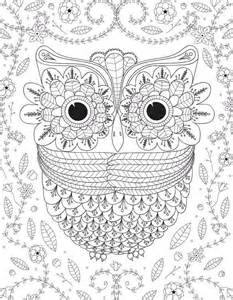 big eyed owl coloring favecrafts