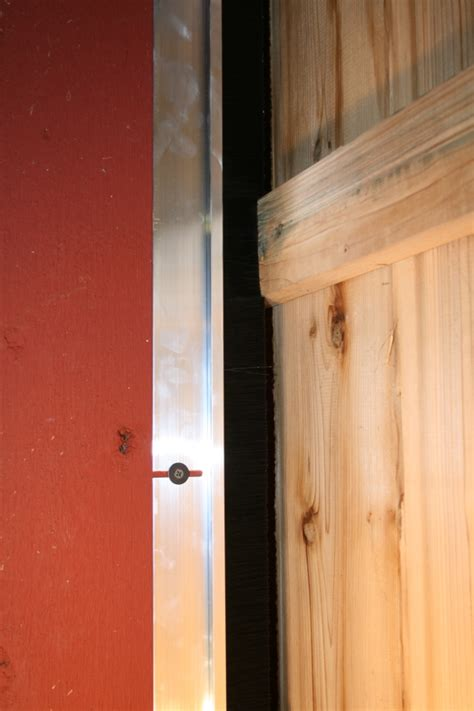 barn door seal brushes precision brush