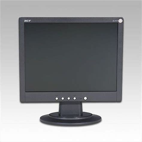Monitor Lcd Acer 15 6 Second acer al 1511b 15 lcd monitor what s it worth