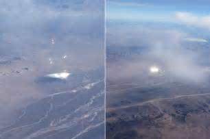 large solar light airplane passenger takes ufo photos during a flight from