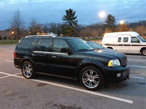 lincoln navigator remote start purchase used 2006 lincoln navigator ultimate awd 4wd dvd