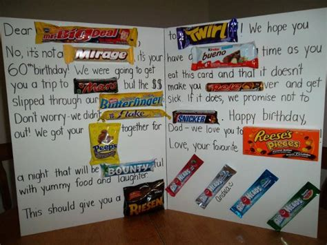 Letter Using Chocolate Bars Dear Mr Big Deal Bar Birthday Card For Daily Picks And Flicks