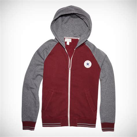 hooded baseball jacket mens chuck patch hooded baseball jacket converse us