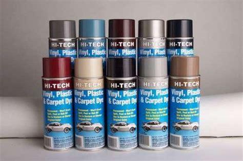 Vinyl Upholstery Dye - dsi automotive hi tech vinyl plastic carpet dyes