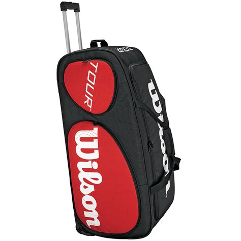 wilson tour traveler tennis bag