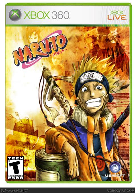 naruto rise   ninja xbox  box art cover  moogle