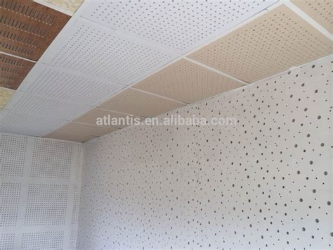 Big &small Round Cross Hole Perforated Gypsum Board Tile