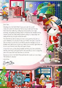 Charity Letter From Father Christmas Nspcc Letters From Santa