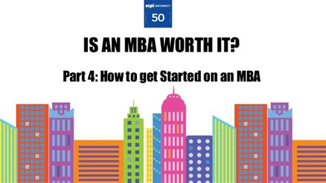 Is Getting An Mba Worth It by How To Get Started On An Mba