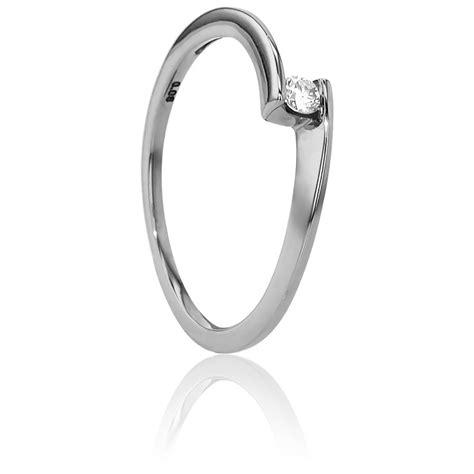 imagenes de anillos en oro blanco anillo compromiso solitario oro blanco diamante con peso 0
