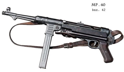 cher mp mp 40 wwii german 9mm sub machine gun the iconic sub