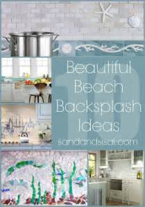 Mosaic Tile Ideas For Kitchen Backsplashes 10 Beach Backsplash Ideas Sand And Sisal