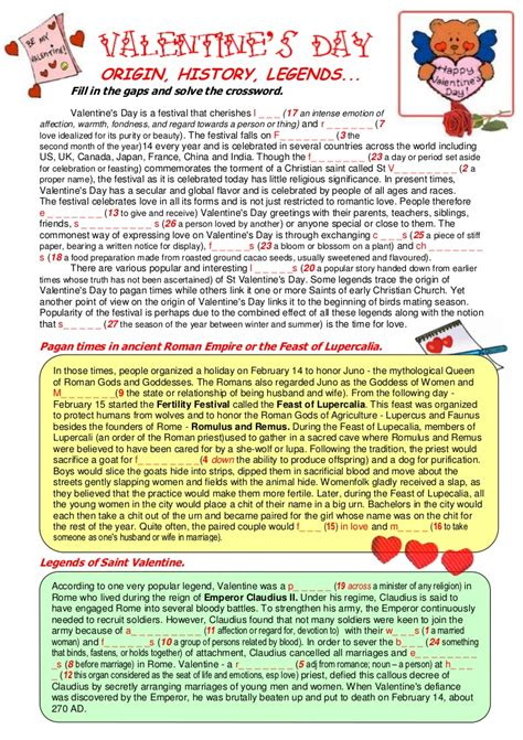 valentines day story for valentines day origin history legends